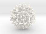 Ring The Chrysanthemum / size 9 1/2 US ( 19,4 mm)