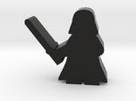 Game Piece, Dark Master, standing with sword