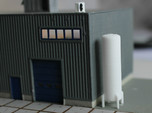 N Scale Cryogenic Tank 38mm