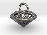 3D Printed Diamond is My Best Friend Pendant Small