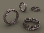 Twisted Bond Ring 18,5mm