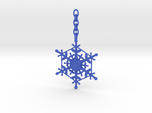 Snowflake Custom Initial Ornament