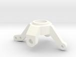 Axial BTA steering knuckle