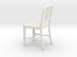Miniature 1:18 Aluminum 1 Chair (not full size)