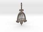 Elegant Birdcage Pendant