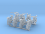 28mm scale Bicycle model 1 (4 pieces)
