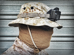 Boonie Hat Mount GoPro HERO 3/4 (Slim Case)