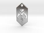 Mandalorian / Mythosaur Pendant Keychain (Star War