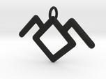 Twin Peaks Black Lodge Symbol Pendant