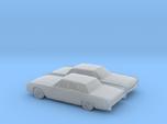 1/160 2X 1962 Lincoln Continental Sedan