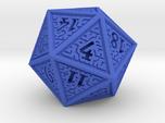 Hedron D20 (Solid), balanced gaming die