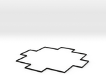 Area Effect Template - 20 foot radius circle