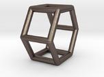0421 Hexagonal Prism (a=1cm) #001