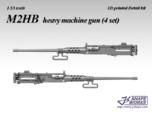1/35 M2HB heavy machine gun (4 set)