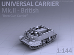 Universal Carrier MkII - (1:144)