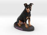 Custom Dog Figurine - Potter