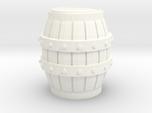 Medieval Barrel miniature