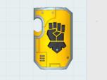 10x Kings Fist Legion - Marine Shield w/Hand