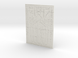 28mm/32mm Egyptian Wall Carving