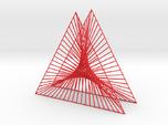 Shape Wired Parabolic Curve Art Triangle Base V1