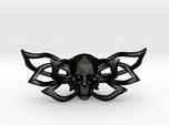 Bow tie The Skull /brooch
