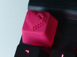 8 Bit Heart Cherry MX Keycap