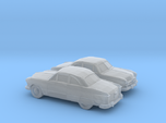 1/160 2X 1949 Ford  Fordor Coupe