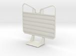 1/25 Waffle pattern cab guard headache rack, plain