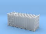 20 Waste Container Edinburgh White (N gauge 1:148)