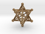Stellated Dodecahedron pendant 40mm