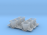 Iron Ladle Car - Set of 6 - Zscale