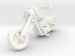 Harley Motorcycle Chopper 28mm miniature