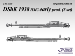 1/35 DShK 1938 hmg early prod. (5 set)