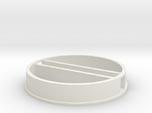 'N Scale' - 48' Diameter Bin - Foundation w/ Tunne