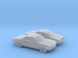 1/160 2X 1969 Chevrolet Corvair Monza