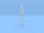 'HO Scale' - 20' Caged Ladder