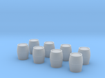 N Scale Barrels