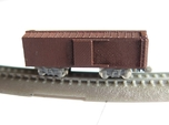 1/450 US 40ft wood boxcar body