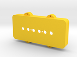 Jazzmaster Pickup Cover - P-90 Mount