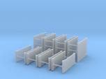 H0 1:87 Verbaubox Set 3m