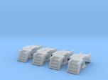 N Scale 4PK Steps for Atlas/ConCor/Rivarossi Heavy