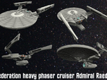Federated Heavy Phaser Cruiser Admiral Raeder