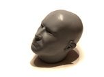1/4 scale Highly detailed head figure Tete visage