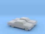 1/148 2X Dodge Royal Coupe