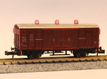"Detail kit for Dutch ""gemüsewagen"" N scale"