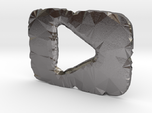 Shattered YouTube Play Button