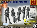 1/24 US Navy Sailor PT Boat Set 13
