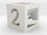 Photogrammatic Target Cube 2
