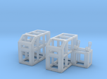 Depth Charge Thrower Rack 1/144 Scale
