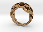 Honeycombs ring / size 20 HK /9 US (19.4 mm)